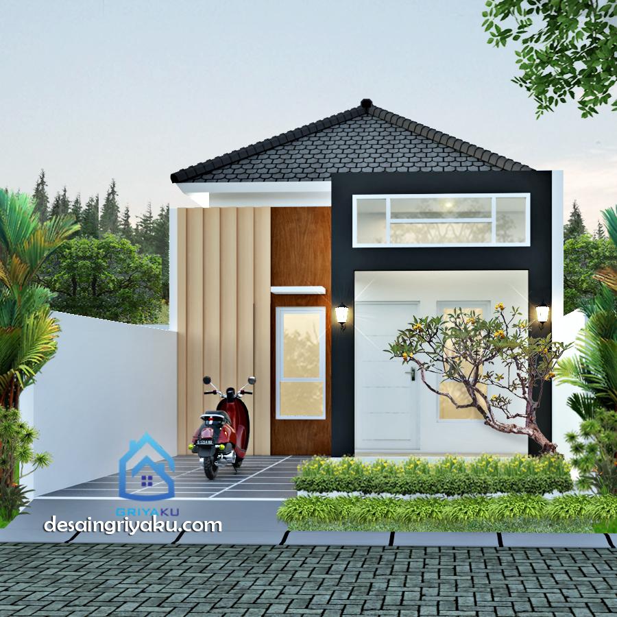 Rumah Type 36 Tropis Minimalis - Rumah Lebar 6 meter