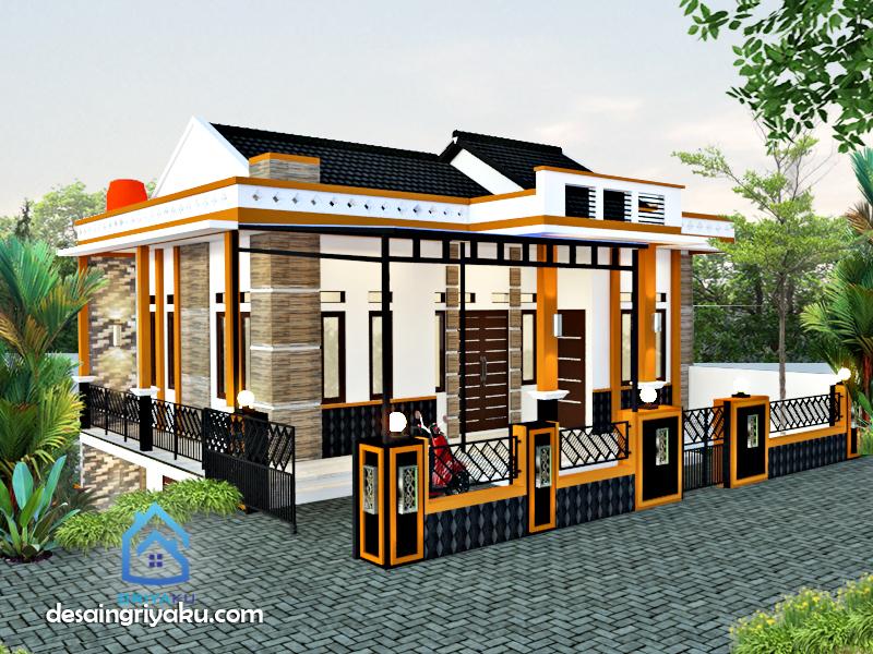 rumah 10 x 9 minimalis - Rumah Lebar 10 meter