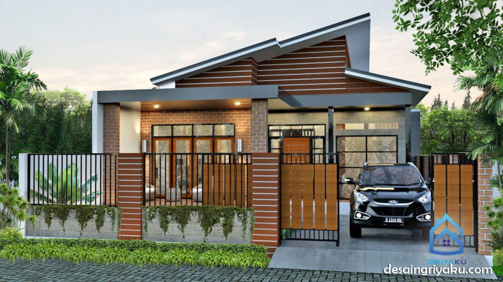 rumah 10 x22 industrial 1024x576 - Rumah Lebar 10 meter