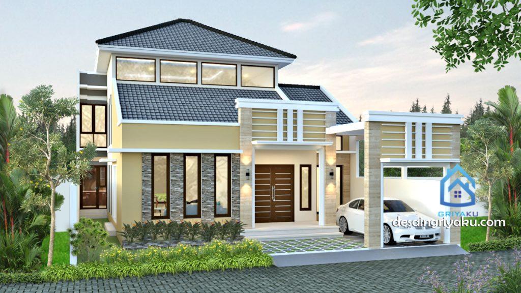 rumah 12x16 minimalis 1024x576 - Rumah Lebar diatas 10 meter