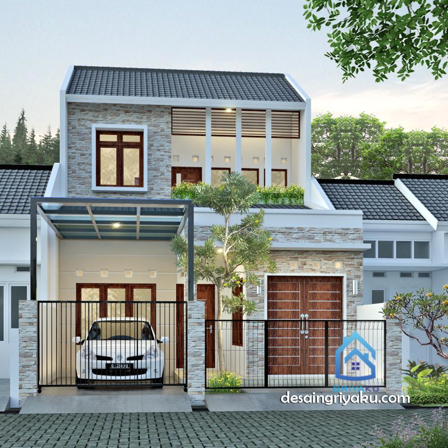 rumah 7 x 14 minimalis - Rumah Lebar 7 meter