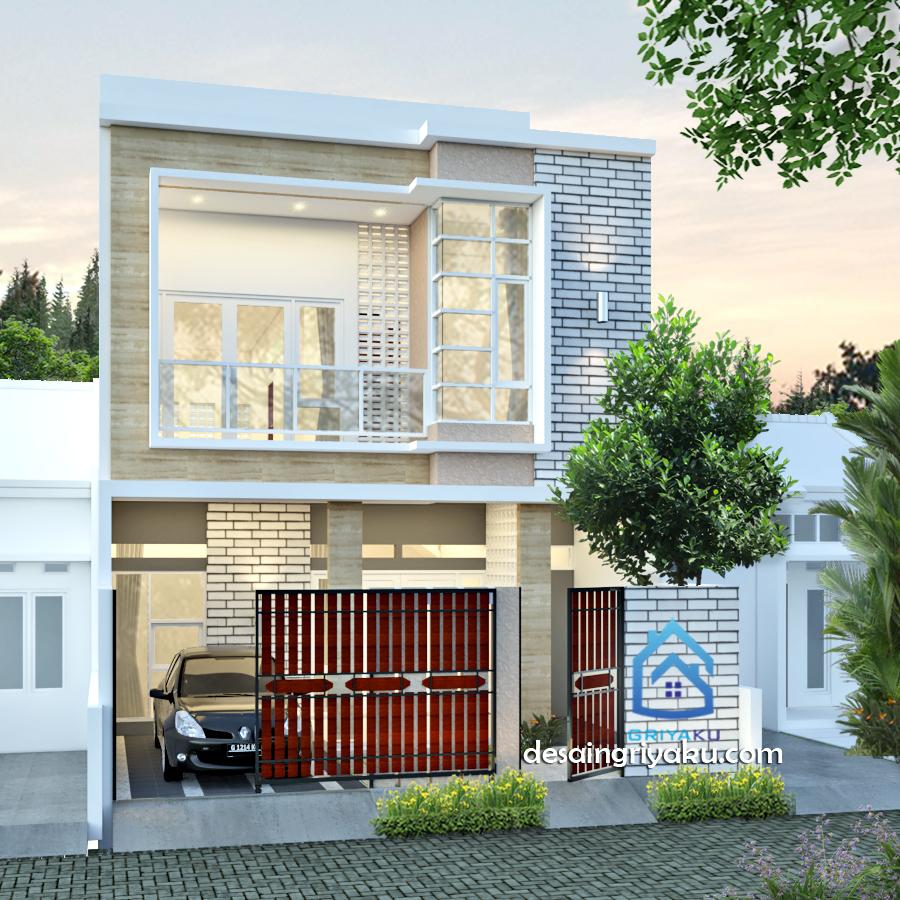 rumah 7 x19 minimalis 2 lantai - Rumah Lebar 7 meter