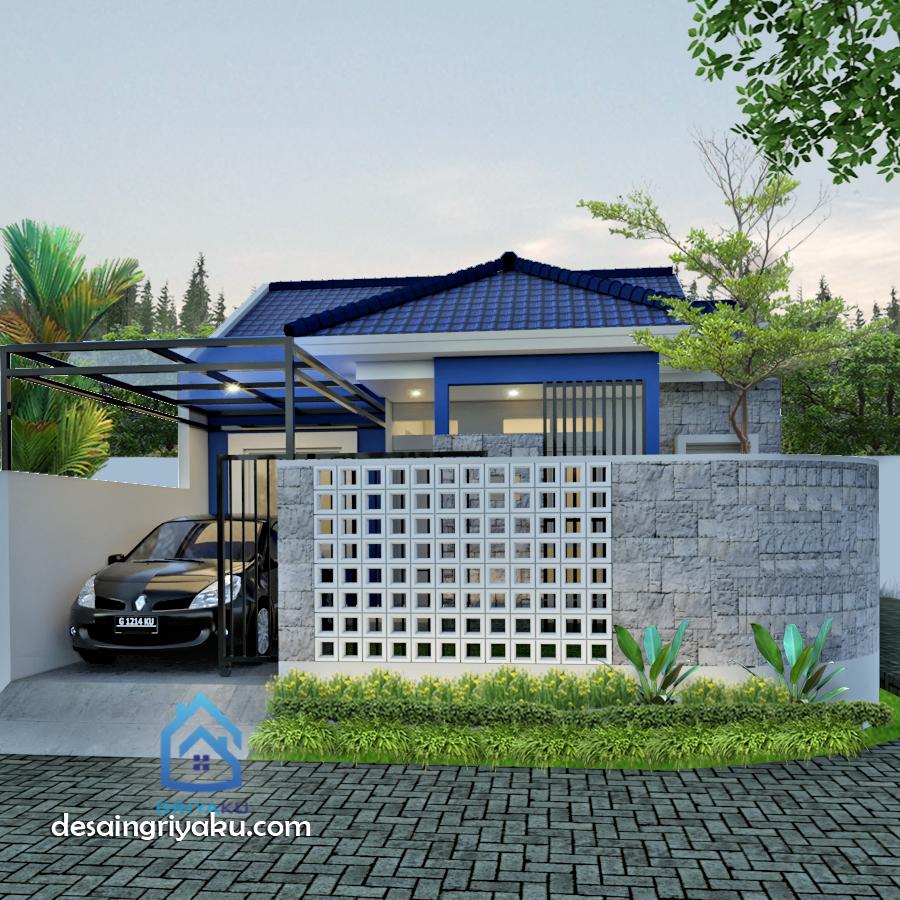 rumah 8 x 10 minimalis - Rumah Lebar 8 meter