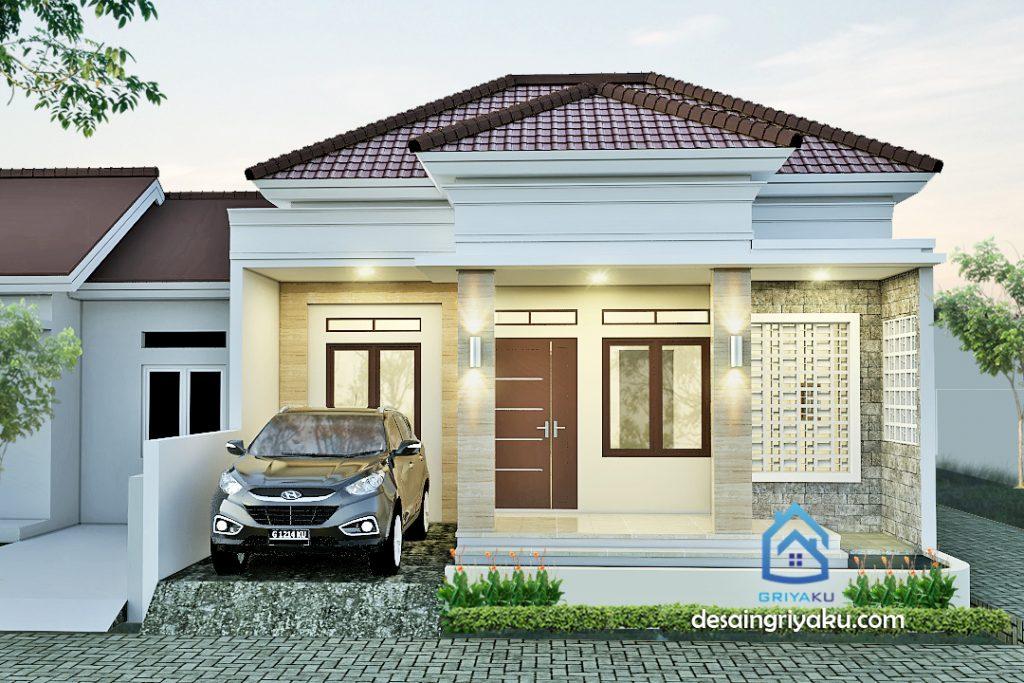 rumah 8 x10 minimalis tropis 1024x683 - Rumah Lebar 8 meter