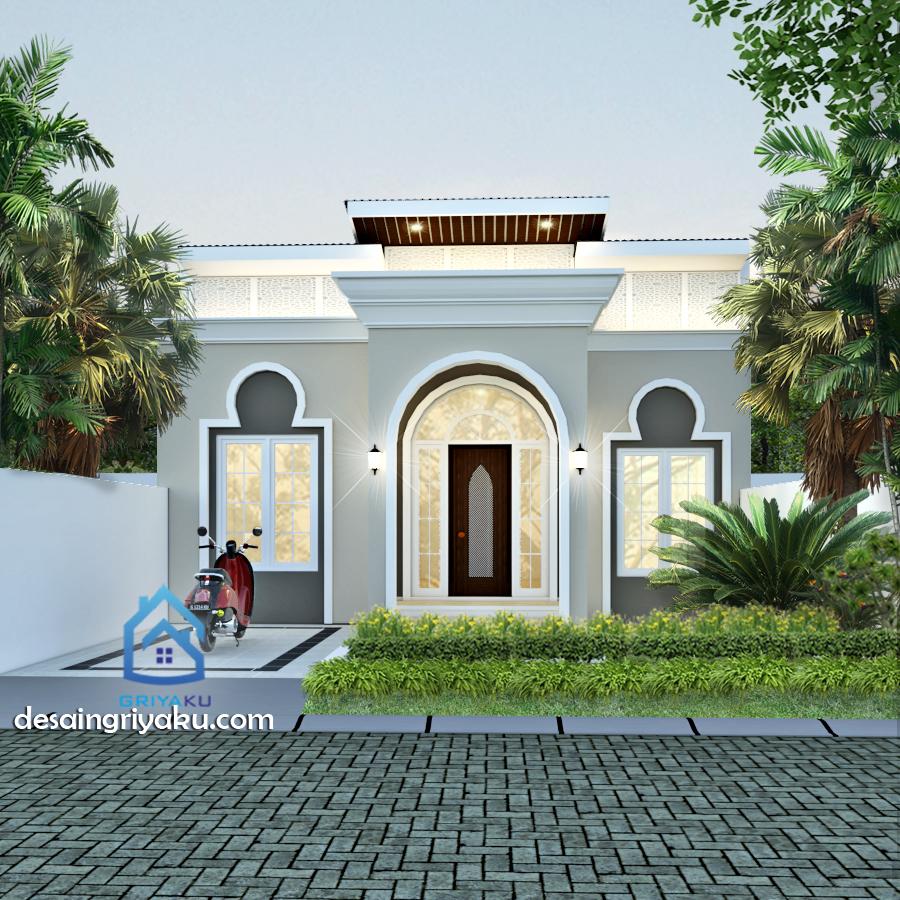 rumah type 45 islami - Rumah Lebar 8 meter