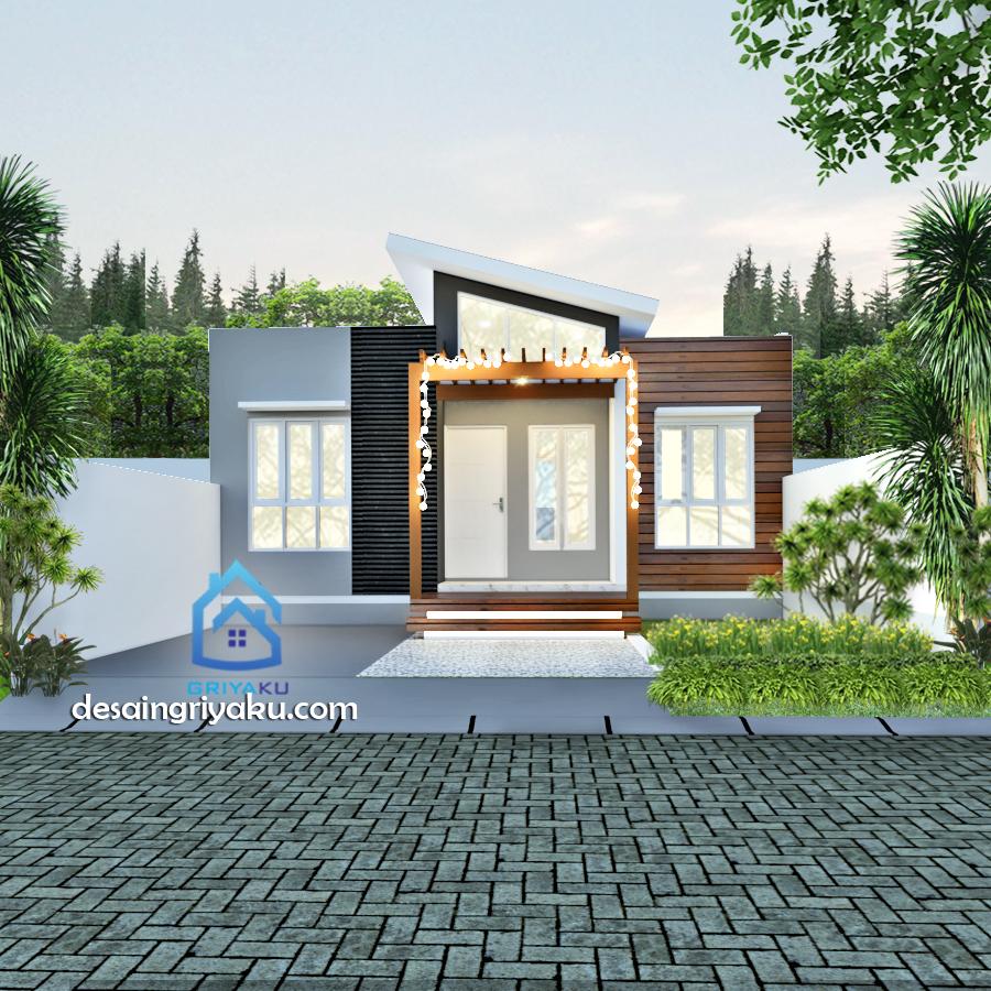 rumah type 45 mini house - Rumah Lebar 8 meter