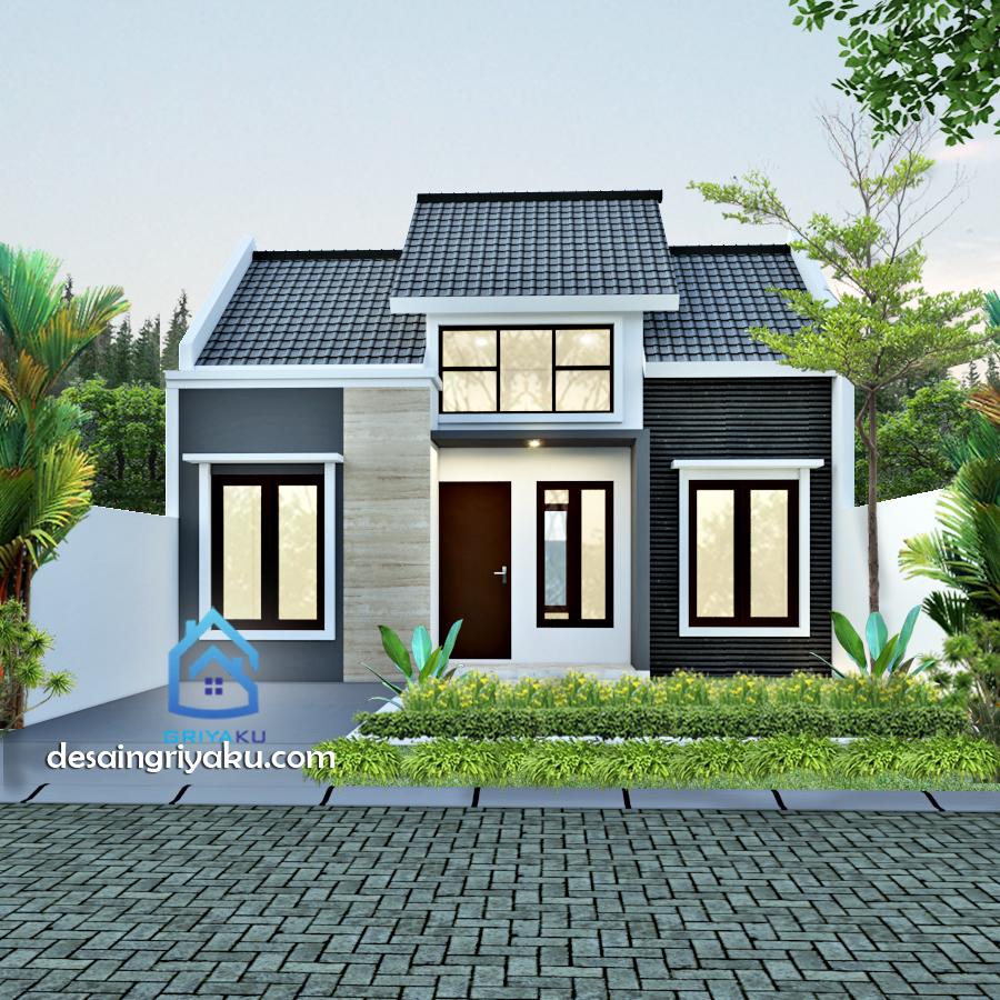 rumah type 45 minimalis - Rumah Lebar 8 meter